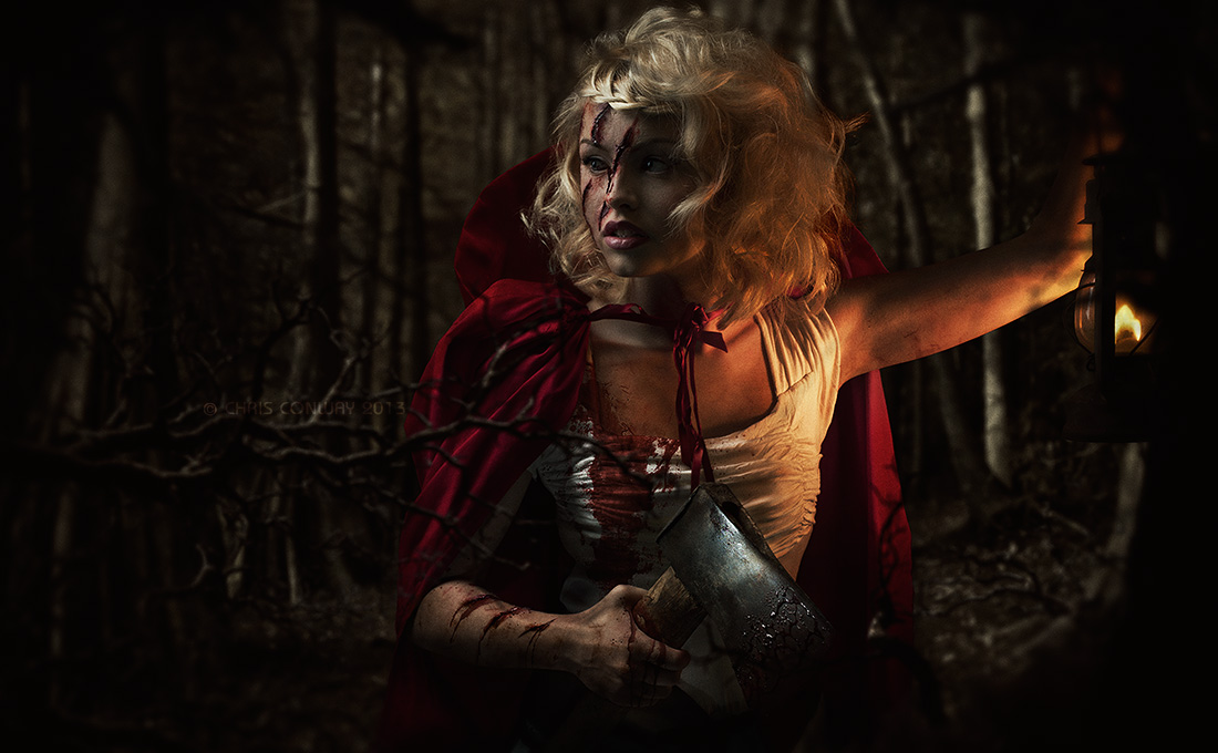 Little Red Riding HoodModel: Ellie Galvin, Makeup Artist: Amy Naughalty, Hair Stylist: Georgina Bools